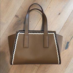 Loeffler Randall tan/brown tote handbag